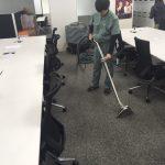 ビル内カーペット清掃