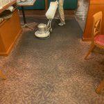 カーペット床の洗浄
